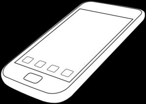 Smartphone By Ocal Clip Art at Clker.com.