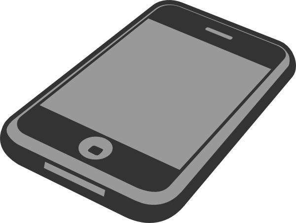 Smartphone clip art.