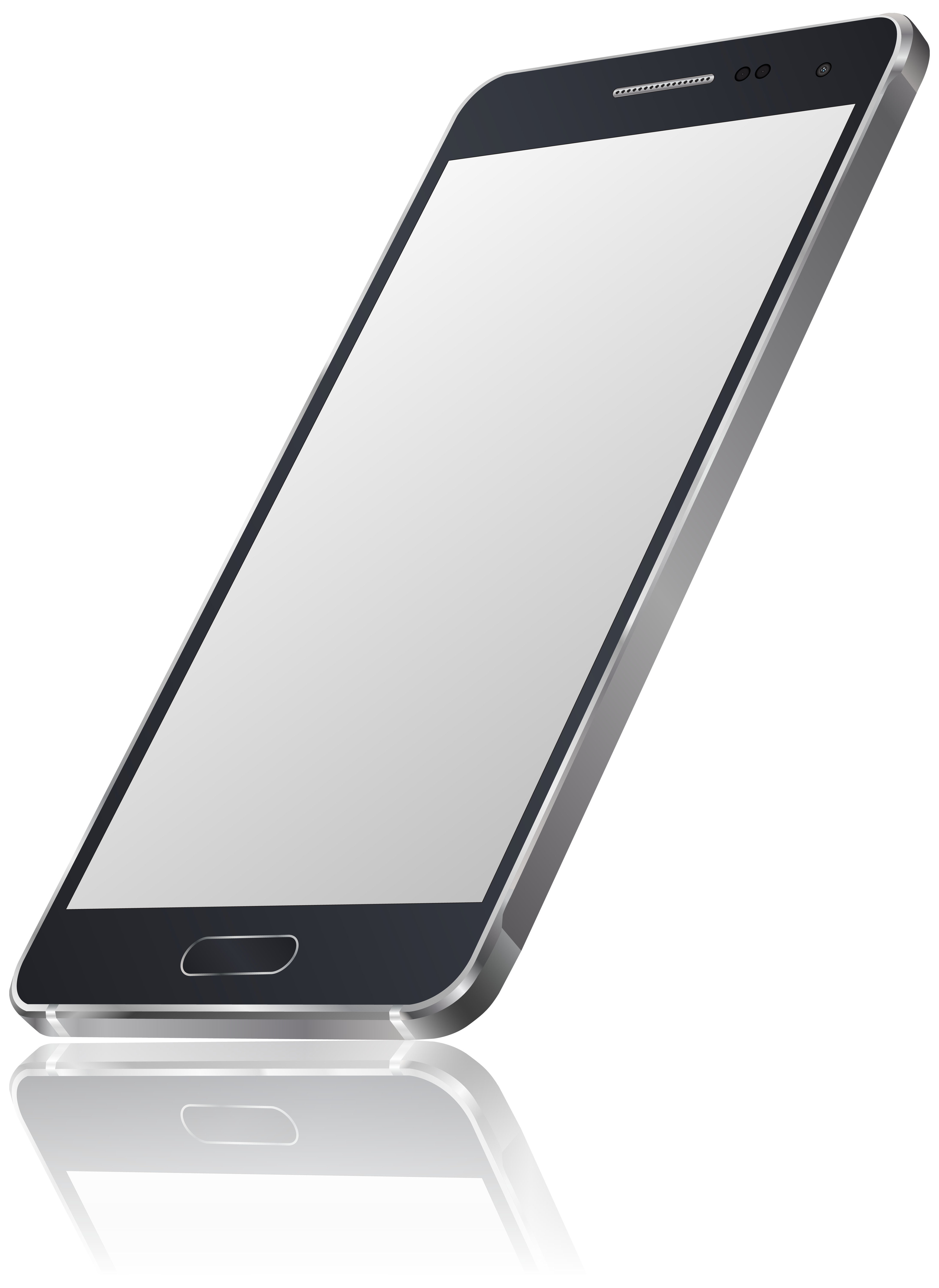 Smartphone PNG Clip Art Image.