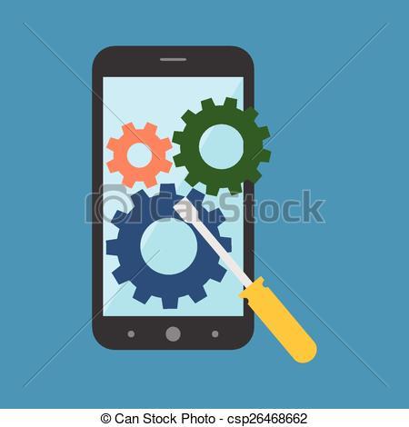 Smartphone repair Stock Illustrations. 2,057 Smartphone repair.