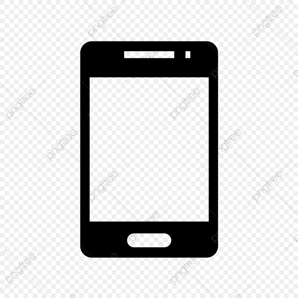 Smartphone Glyph Black Icon, Smartphone, Smart, Phone PNG.