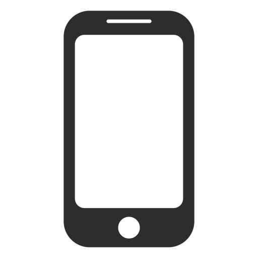 Simple smartphone icon.