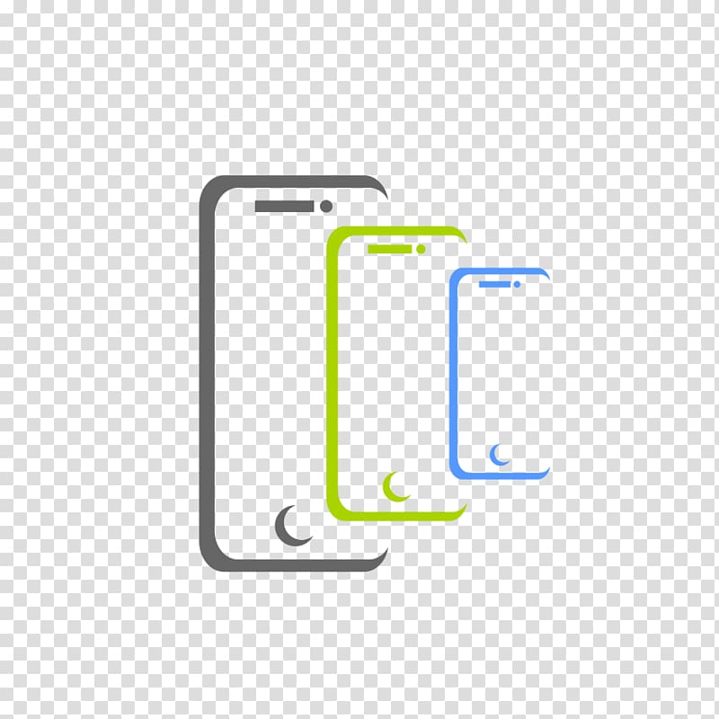 Smartphones logo illustrations, Logo Mobile Phone.
