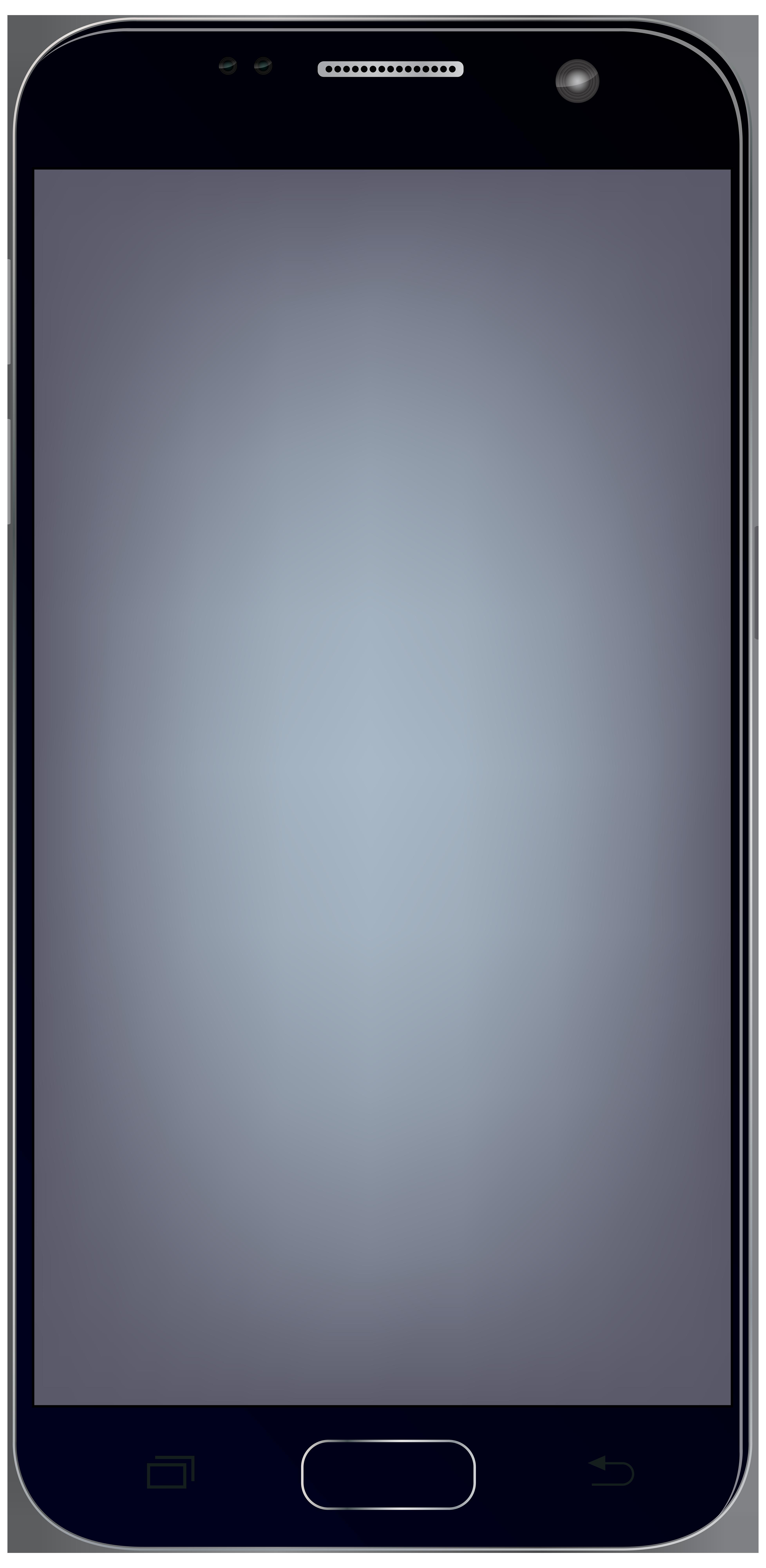 Large Smartphone PNG Clip Art Image.