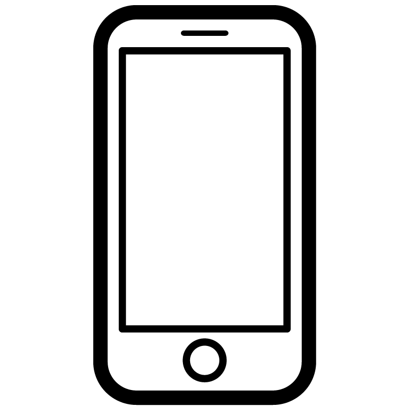 Smartphone Vector Icon.
