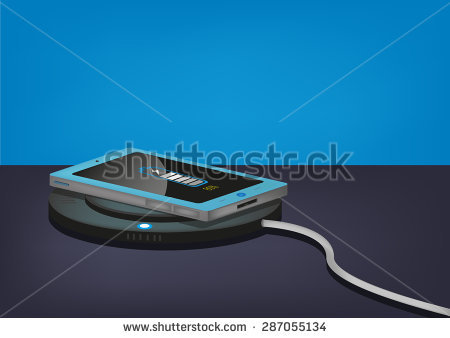 Wireless Charging Stock Images, Royalty.