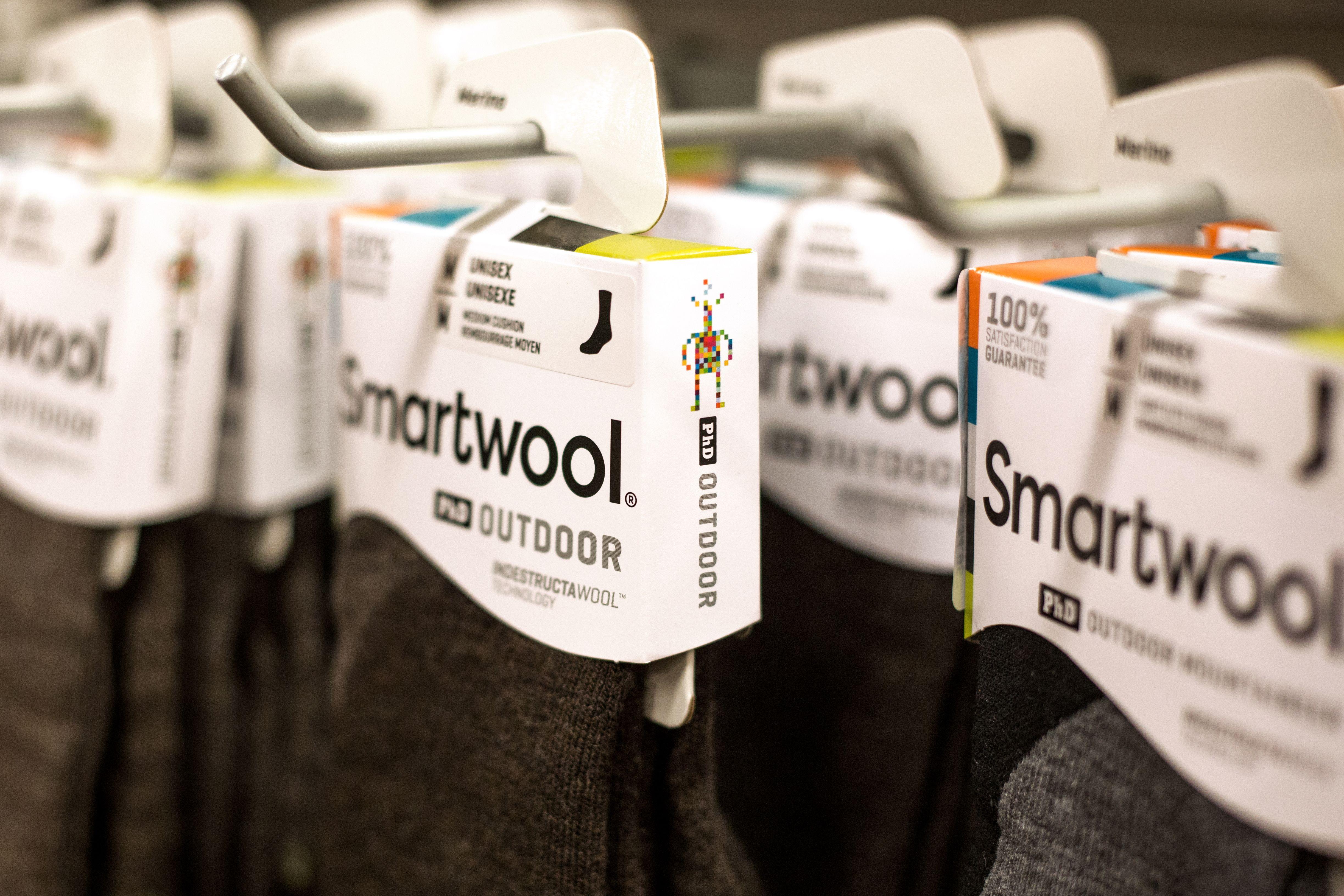 Smartwool Logo Design.