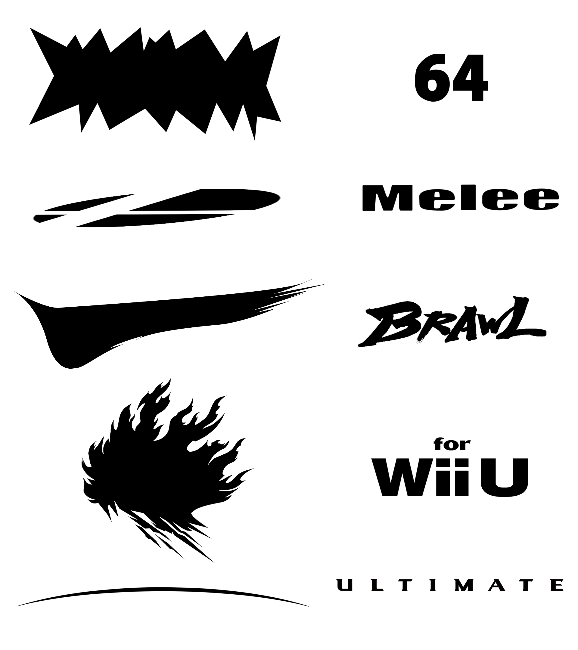 Which Smash Logo is your favourite? (Vectors edited by me.