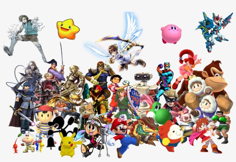 Nintendo Transparent Background.