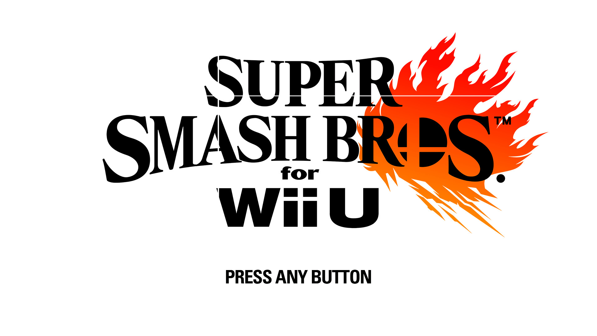 Smash Switch for Wii U Refined Logo Title Screen [Super.