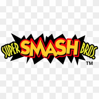 Smash Bros Logo PNG Transparent For Free Download.