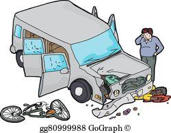 Damaged Car Clip Art.