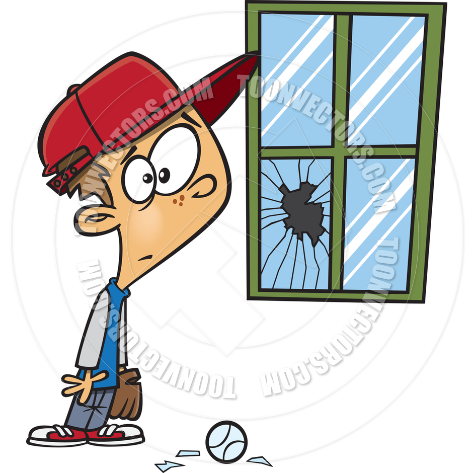 broken window clipart