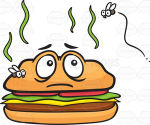 Smelly Food Clipart.