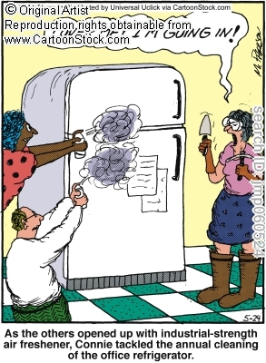 Showing post & media for Smelly fridge cartoon.