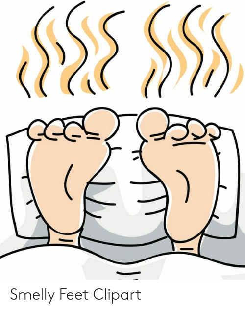 Smelly Feet Clipart.