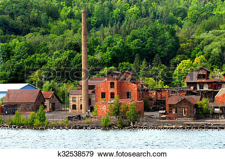 Stock Photograph of Copper Smelter k32538579.