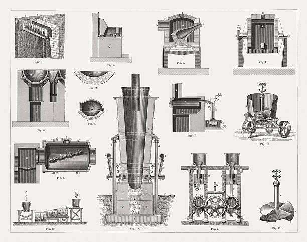 Silver Smelter Clip Art, Vector Images & Illustrations.