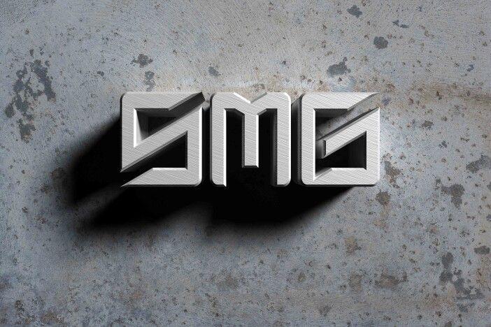 SMG 3D logo design by Joseph Alvarado.