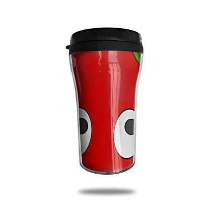 Amazon.com: FTRGRAFE Tomatoes Clipart Smile Travel Coffee.