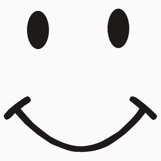Smiley face black and white smile clipart black and white.
