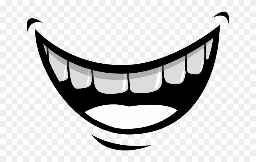 Mouth Cartoon Smile Clipart (#1094419).