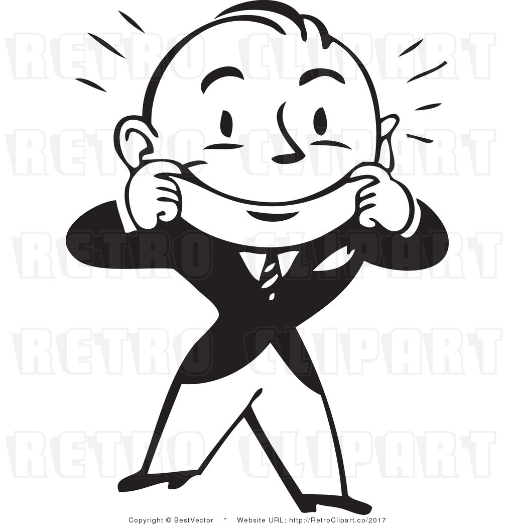 Smile Clip Art Black And White.