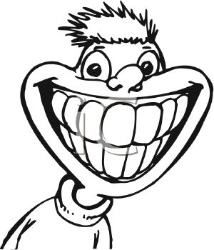 Smile Mouth Clipart Black And White.