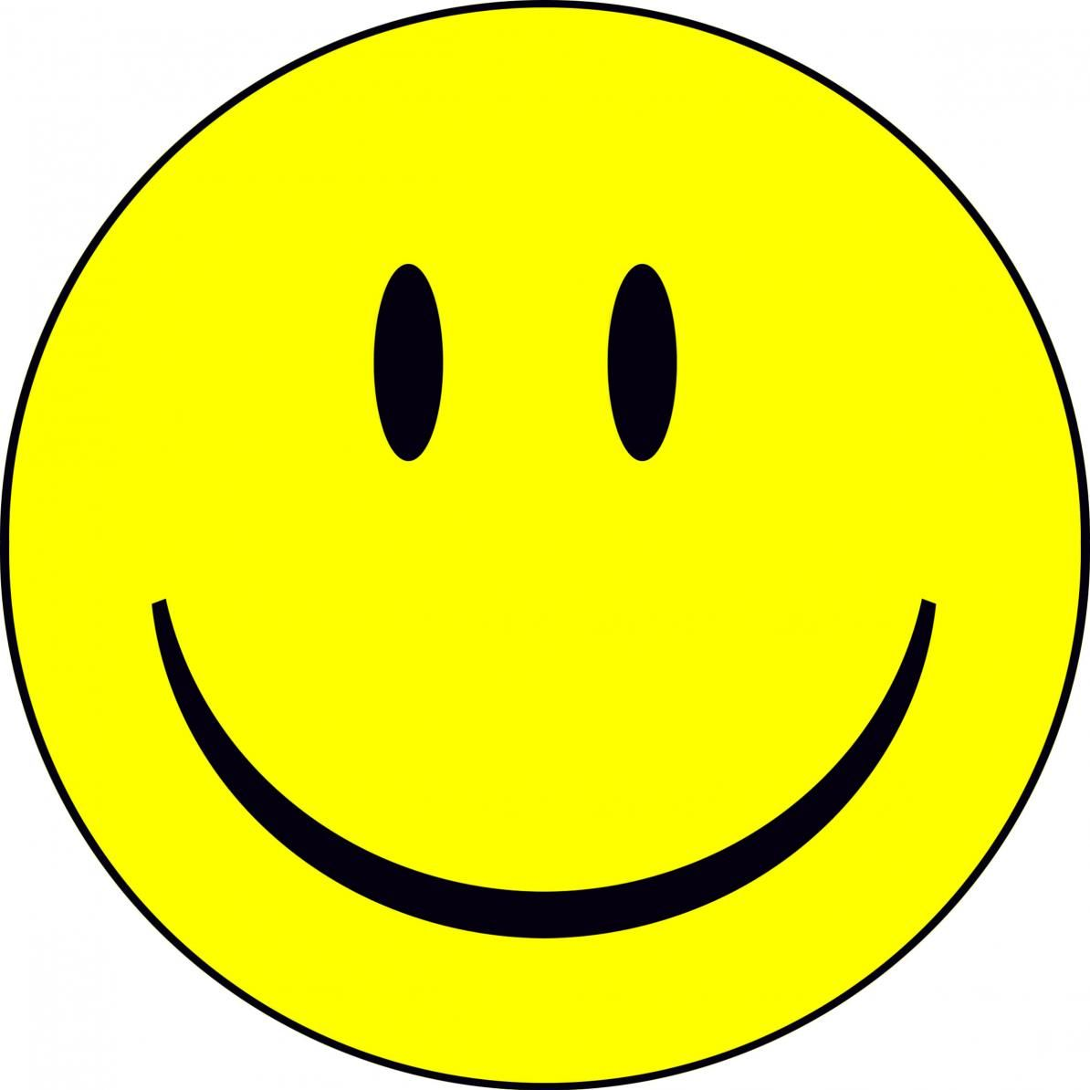 free happy face clip art.