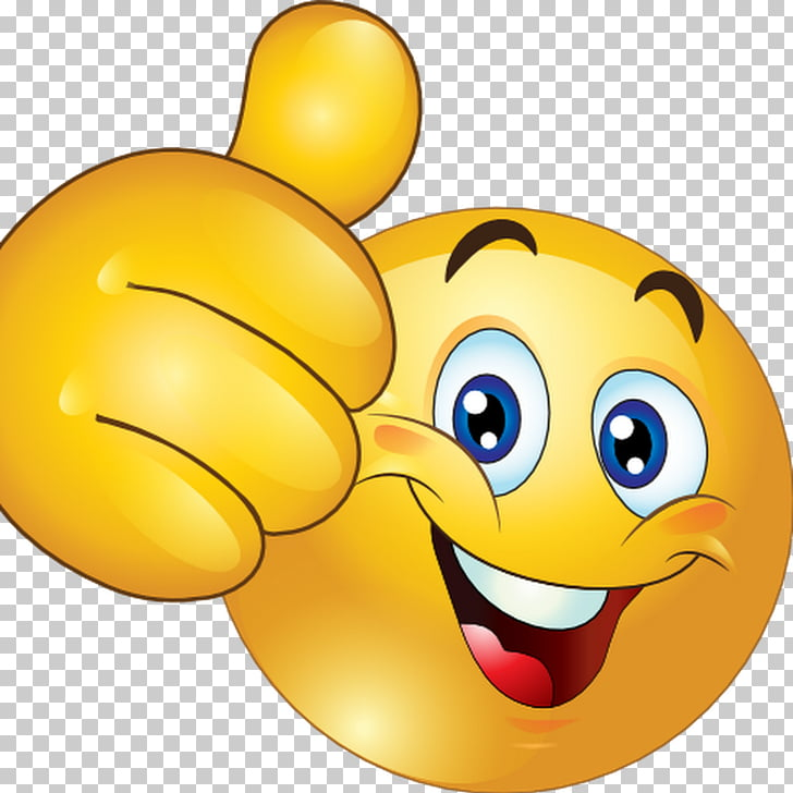 Thumb signal Smiley Emoticon , Lovely Smile, thumbs up.