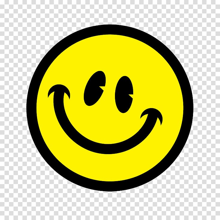 Yellow smile emoji illustration, Smiley Happiness Feeling.