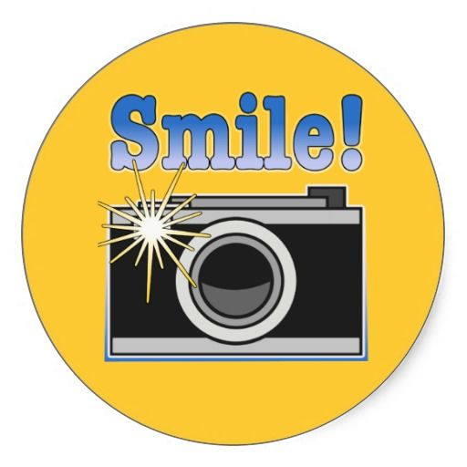 Smile For The Camera Clipart.