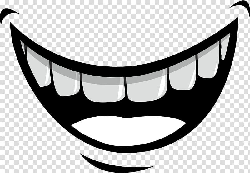 Smile logo, Mouth Lip Tooth Illustration, Creative smile.
