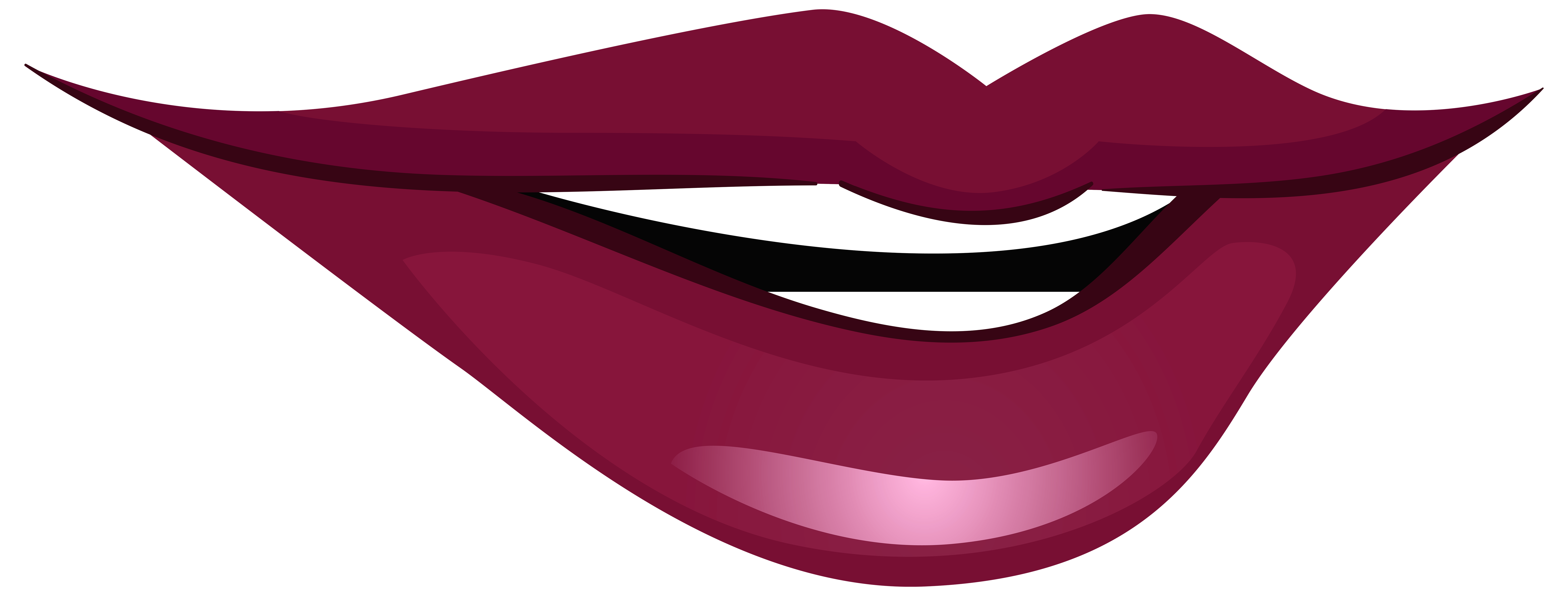 Smiling Mouth PNG Clip Art.