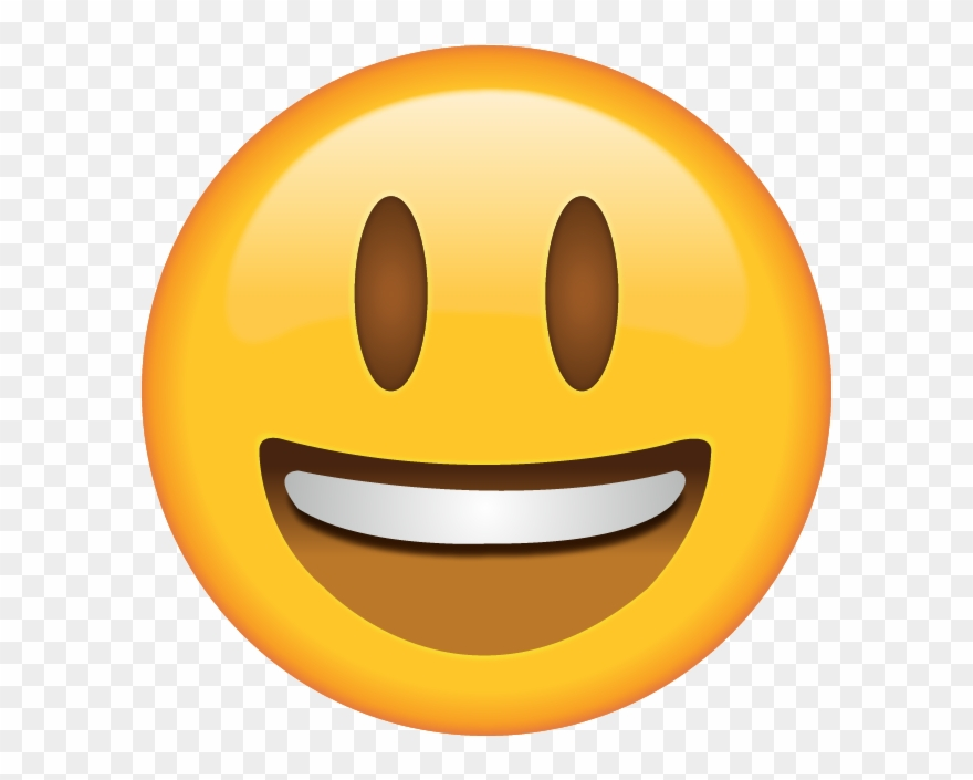 Smiling Emoji Clipart (#1046176).