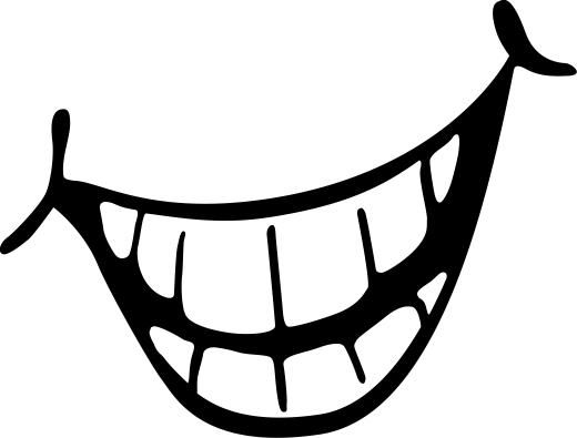 Smile teeth clipart 4 » Clipart Station.