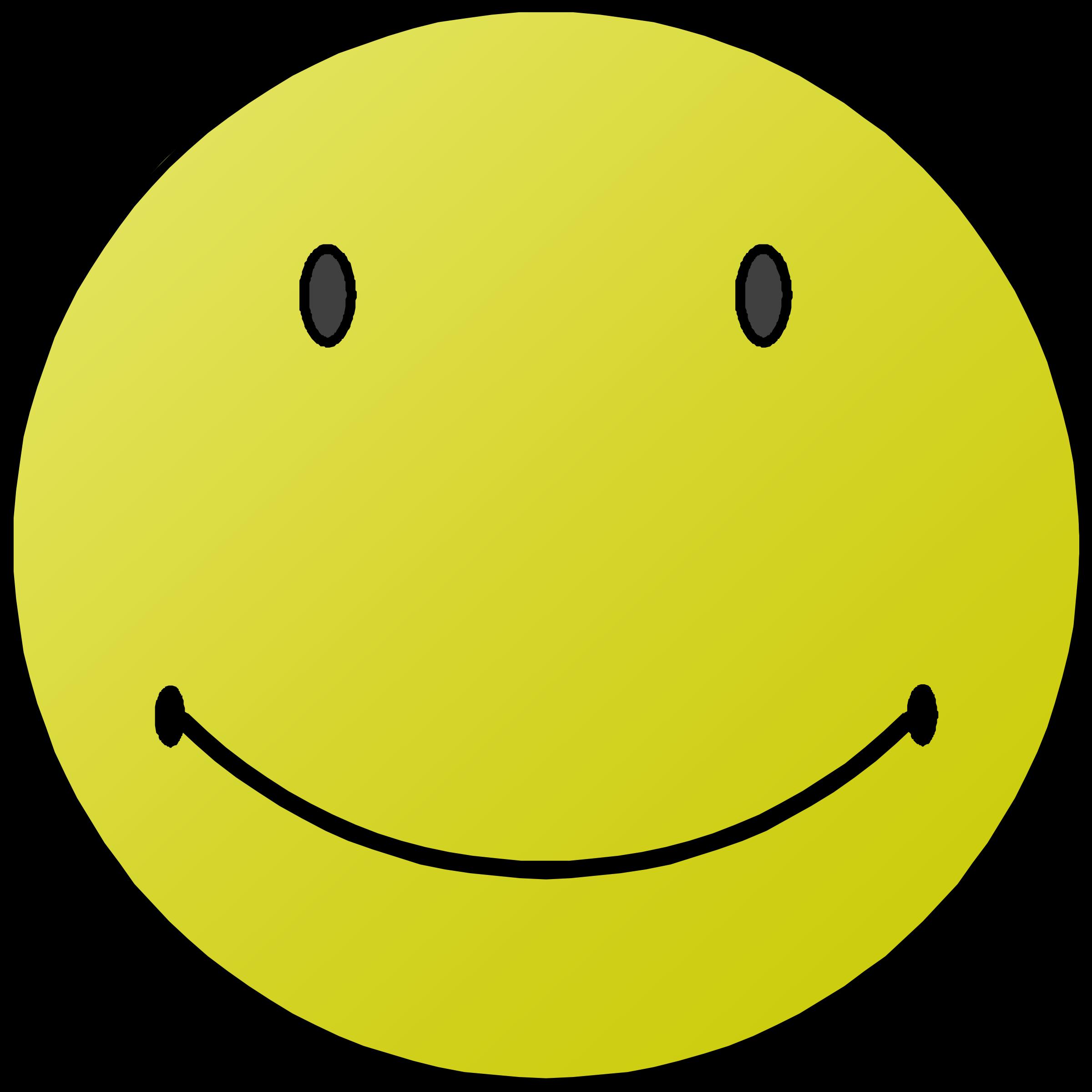 Clipart Smiler Face.