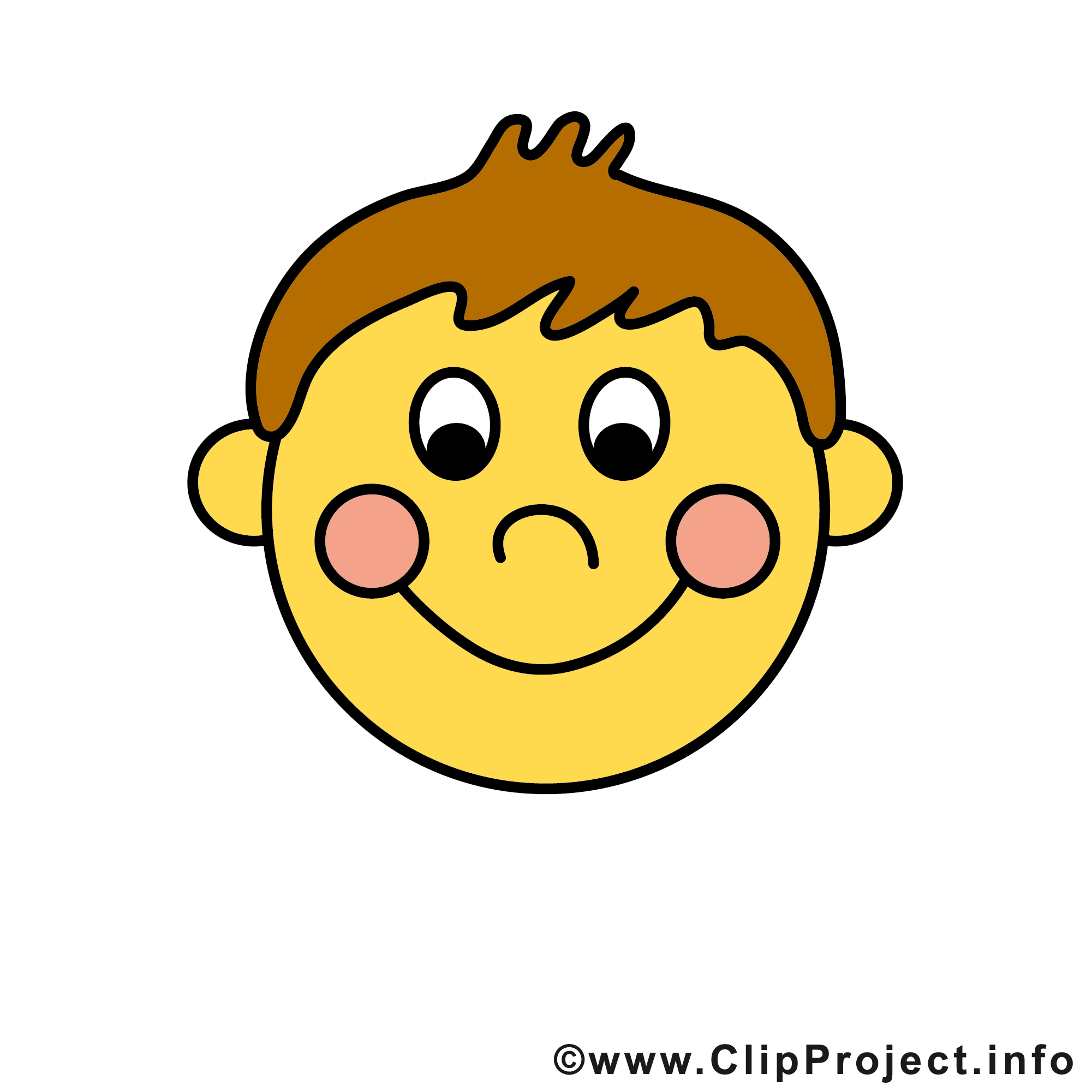 Funny Smile Clipart.