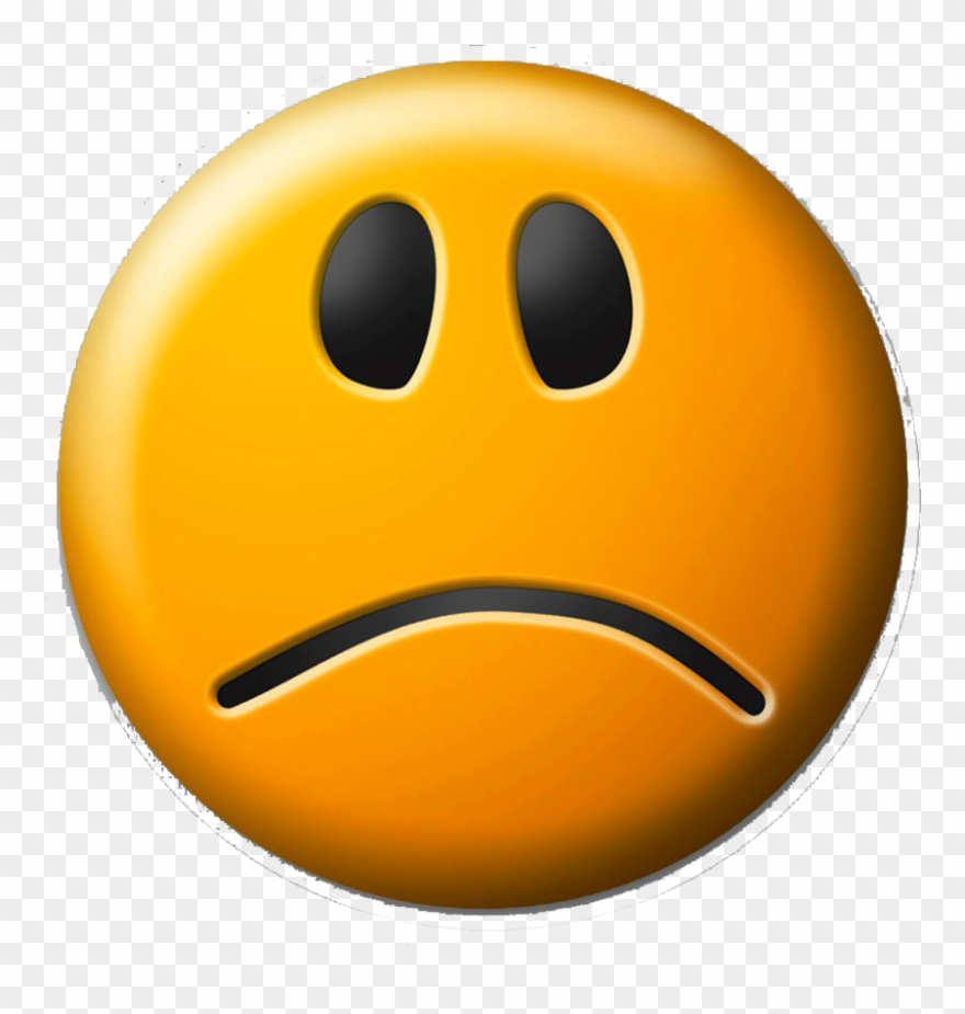 Self Pity Smiley Clip Art Face Transprent.