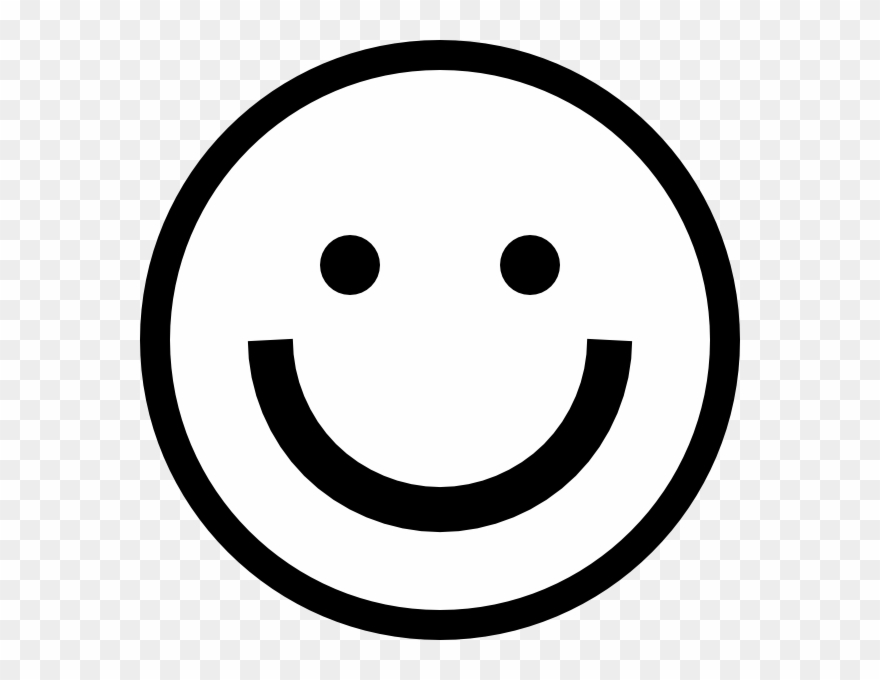Smiley Face Black And White Smiley Face Clipart Black.