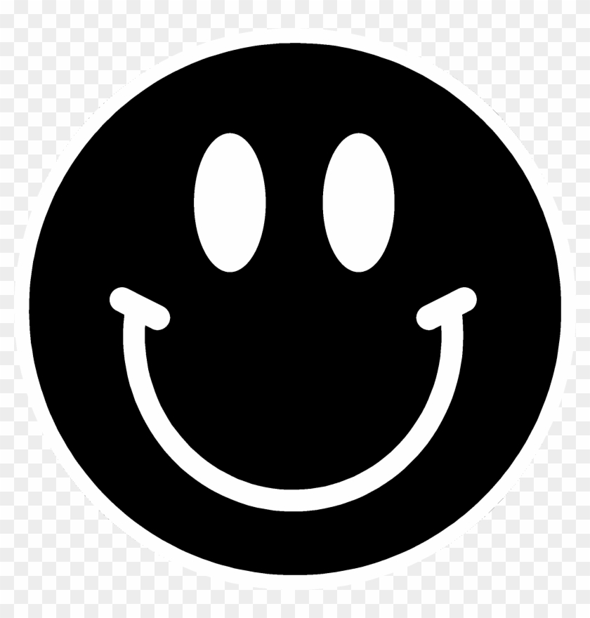Png Happy Face Black And White Transparent Happy Face.