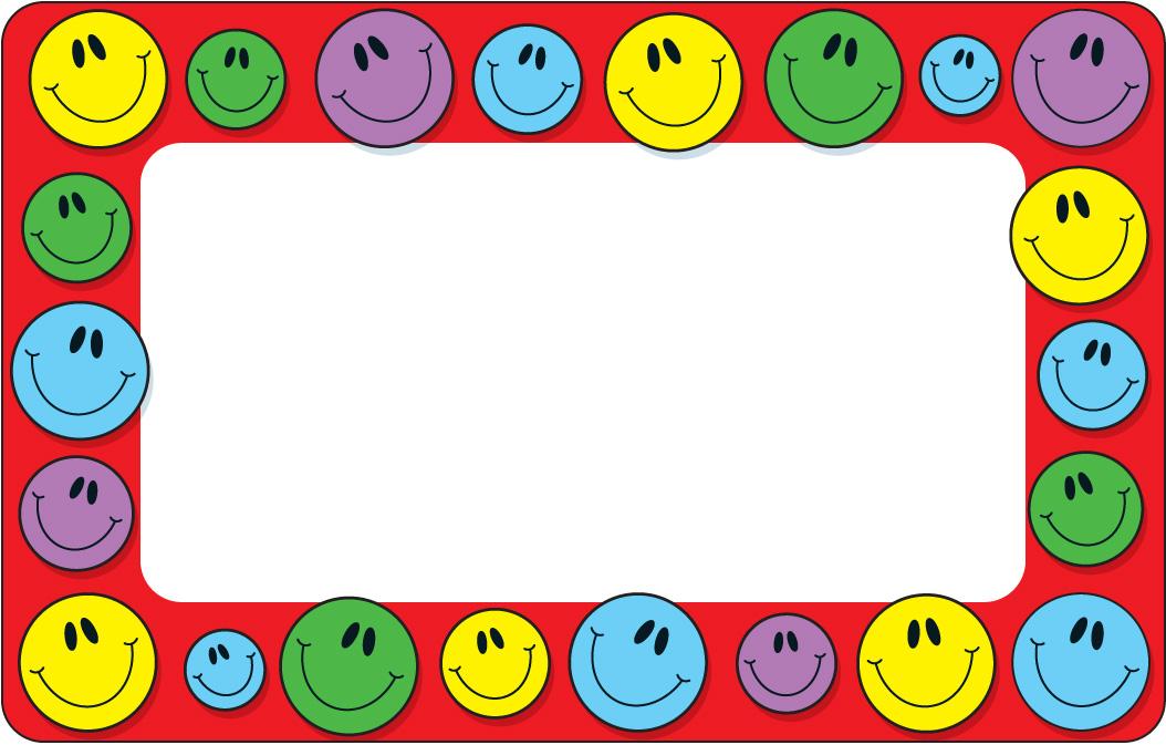 Smile Border Cliparts.