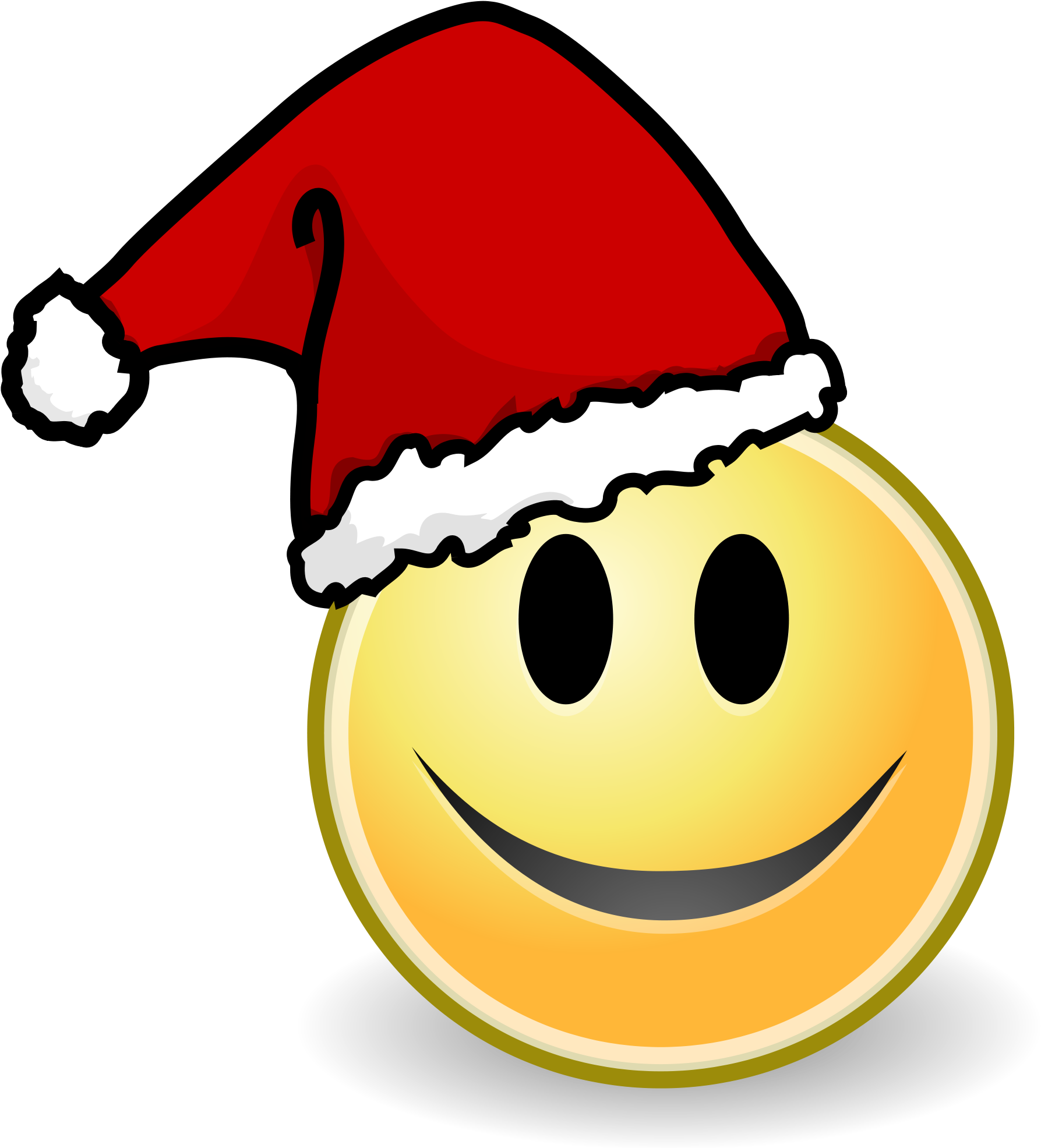 Face Smile Christmas.