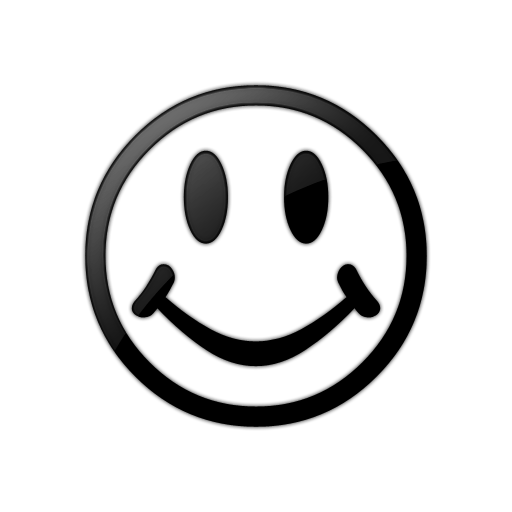 Transparent Smiley Face.