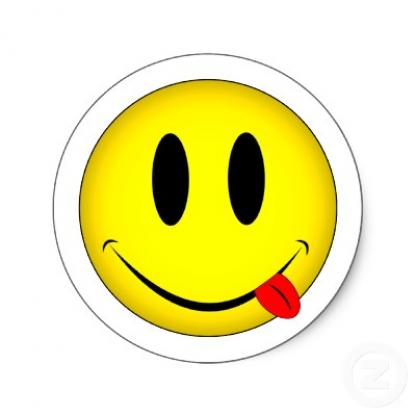 Free Picture Of Smiley Face Sticking Out Tongue, Download.