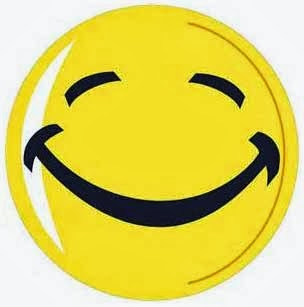 1141 Happy Face free clipart.