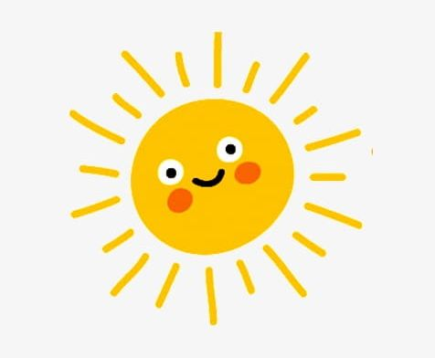 Yellow Cartoon Smiley Face Sun PNG, Clipart, Cartoon.