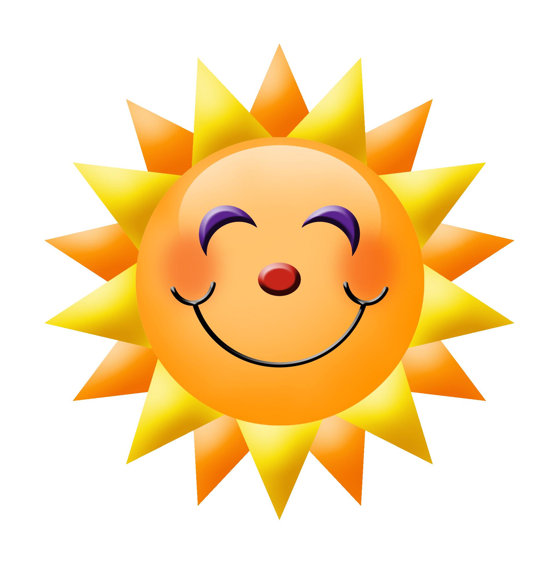 Happy Face Sun.