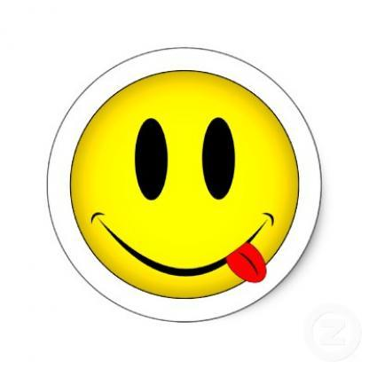 Smiley face tongue out clipart 4 » Clipart Portal.