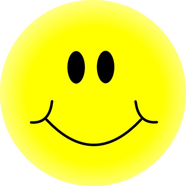 Yellow Smiley Face Clip Art At Clker.com Vector Clip Art.